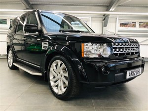 used Land Rover Discovery SDV6 HSE in hook-hampshire