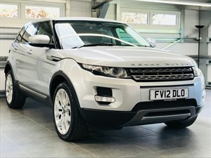 used Land Rover Range Rover Evoque SD4 PURE in hook-hampshire