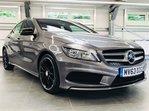 used Mercedes A250 BLUEEFFICIENCY AMG SPORT in hook-hampshire