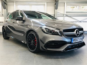 used Mercedes A45 AMG A 45 4MATIC PREMIUM in hook-hampshire