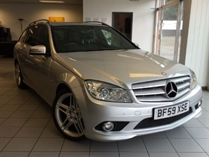 used Mercedes C220 CDI BLUEEFFICIENCY SPORT in hook-hampshire