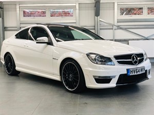used Mercedes C63 AMG in hook-hampshire