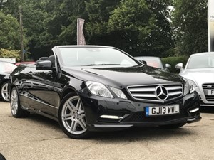 used Mercedes E250 CGI BLUEEFFICIENCY SPORT 204bhp in hook-hampshire
