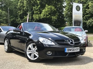 used Mercedes SLK SLK200 KOMPRESSOR in hook-hampshire