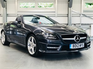 used Mercedes SLK200 BLUEEFFICIENCY AMG SPORT in hook-hampshire