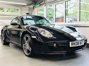 used Porsche Cayman S in hook-hampshire