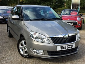 used Skoda Fabia SE TSI in hook-hampshire