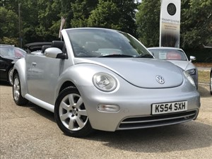 used VW Beetle CABRIOLET 8V AUTOMATIC in hook-hampshire
