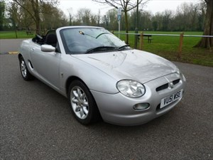 Car of the week - MG MGF 1.8i Convertible(Just 39,000miles) - Only £2,495