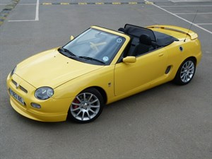 Car of the week - MG MGF Trophy 160 vvc (just 2,670miles) - Only £9,895
