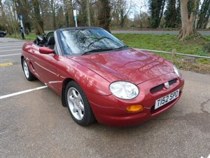 Car of the week - MG MGF Convertible (just 28,800miles) - Only £2,995