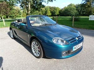 Car of the week - MG TF 135 80th ltd ed (just 51,000miles) - Only £4,795