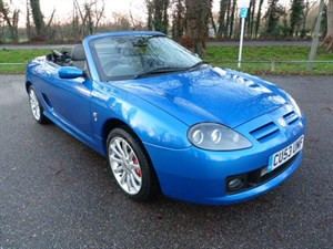 Car of the week - MG TF 160vvc  A/C+high spec. - Only £3,995