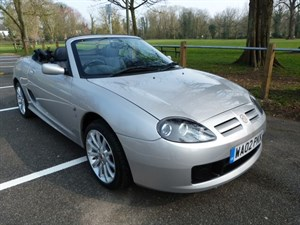 Car of the week - MG TF 135 (just 21,500miles) - Only £4,295