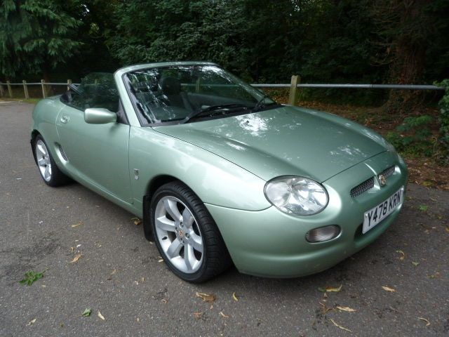 Car of the week - MG MGF VVC (Just 39,000miles) - Only £3,495