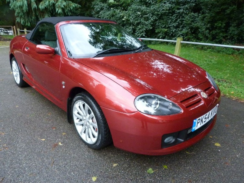 Car of the week - MG TF 135 Spark +Hardtop(just 29,000miles) - Only £5,695