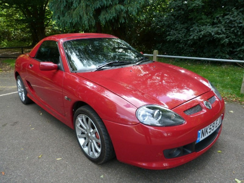 Car of the week - MG TF LE500 A/c + H/top (just 26,000m) - Only £6,995