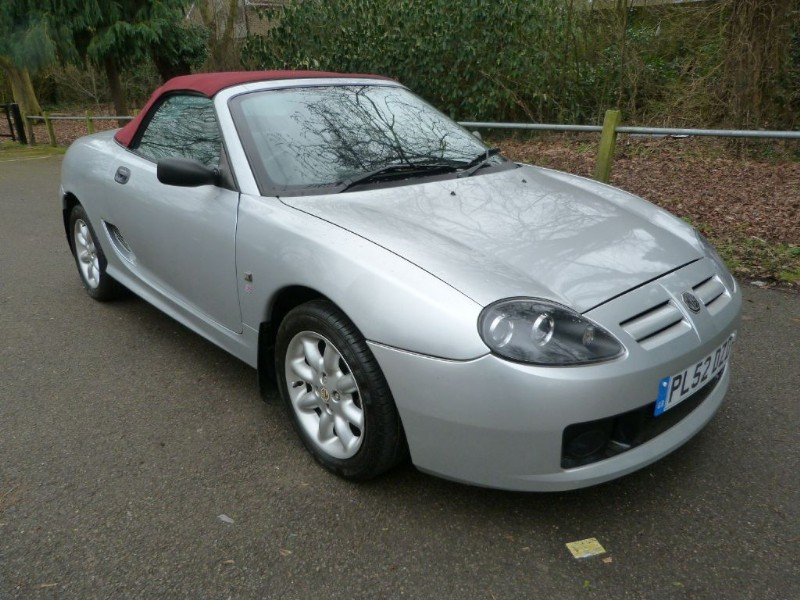 Car of the week - MG TF 115 Convertible (just 38,700miles) - Only £2,595