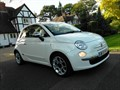 Fiat 500 LOUNGE TWINAIR 3 Dr HATCHBACK with PANORAMIC GLASS SUN ROOF