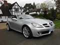 Mercedes-Benz SLK200 KOMPRESSOR Auto CONVERTIBLE with SAT-NAV  Full LEATHER