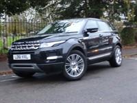 Used Land Rover Range Rover Evoque SD4 PRESTIGE LUX