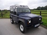 Used Land Rover Defender 90 TD HARD TOP
