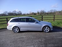 used Mercedes C180 KOMPRESSOR BLUEEFFICIENCY SPORT in aldershot-hampshire