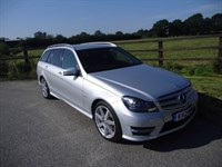 used Mercedes C220 CDI BLUEEFFICIENCY SPORT in aldershot-hampshire