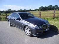 used Mercedes E200 CDI BLUEEFFICIENCY SPORT in aldershot-hampshire