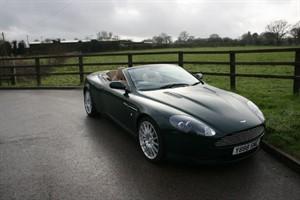 used Aston Martin DB9 V12 VOLANTE in aldershot-hampshire