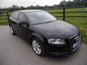 used Audi A3 SPORTBACK TDI SPORT in aldershot-hampshire