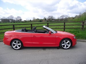 used Audi A5 TFSI S LINE in aldershot-hampshire
