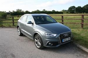 used Audi Q3 TDI QUATTRO S LINE (PANO ROOF & SAT NAV) in aldershot-hampshire
