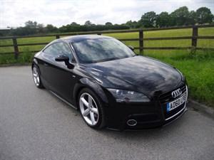 used Audi TT TDI QUATTRO S LINE in aldershot-hampshire