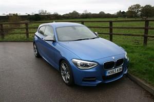 used BMW 1 Series M 135I (SAT NAV.. LEATHER.. SERVICE PACK) in aldershot-hampshire