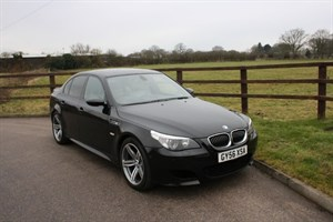 used BMW M5 NEW ENGINE BY BMW MAIN DEALER in aldershot-hampshire