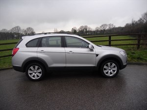 used Chevrolet Captiva LTX VCDI 7 seat auto in aldershot-hampshire