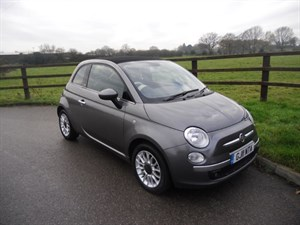 used Fiat 500 C LOUNGE in aldershot-hampshire