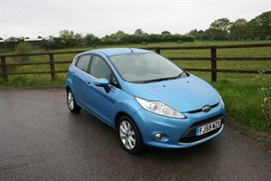 used Ford Fiesta ZETEC in aldershot-hampshire