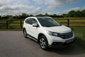 used Honda CR-V I-DTEC EX (SAT NAV,REV CAMERA, PANO ROOF) in aldershot-hampshire