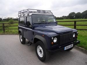 used Land Rover Defender 90 TD HARD TOP in aldershot-hampshire