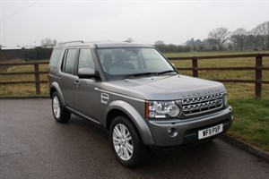 used Land Rover Discovery 4 SDV6 HSE in aldershot-hampshire