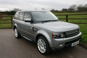 used Land Rover Range Rover Sport SDV6 HSE in aldershot-hampshire