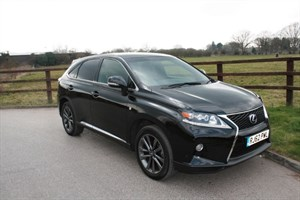 used Lexus RX 450h F SPORT in aldershot-hampshire