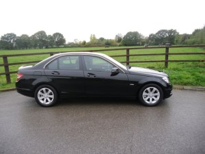used Mercedes C180 CGI BLUEEFFICIENCY SE in aldershot-hampshire