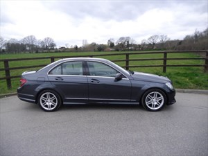 used Mercedes C220 CDI SPORT in aldershot-hampshire