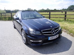 used Mercedes C63 AMG  in aldershot-hampshire