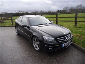 used Mercedes CLC200 KOMPRESSOR SPORT (PANO ROOF) in aldershot-hampshire