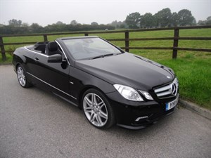 used Mercedes E220 CDI BLUEEFFICIENCY SPORT in aldershot-hampshire