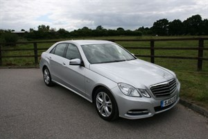 used Mercedes E220 CDI BLUEEFFICIENCY EXECUTIVE SE in aldershot-hampshire